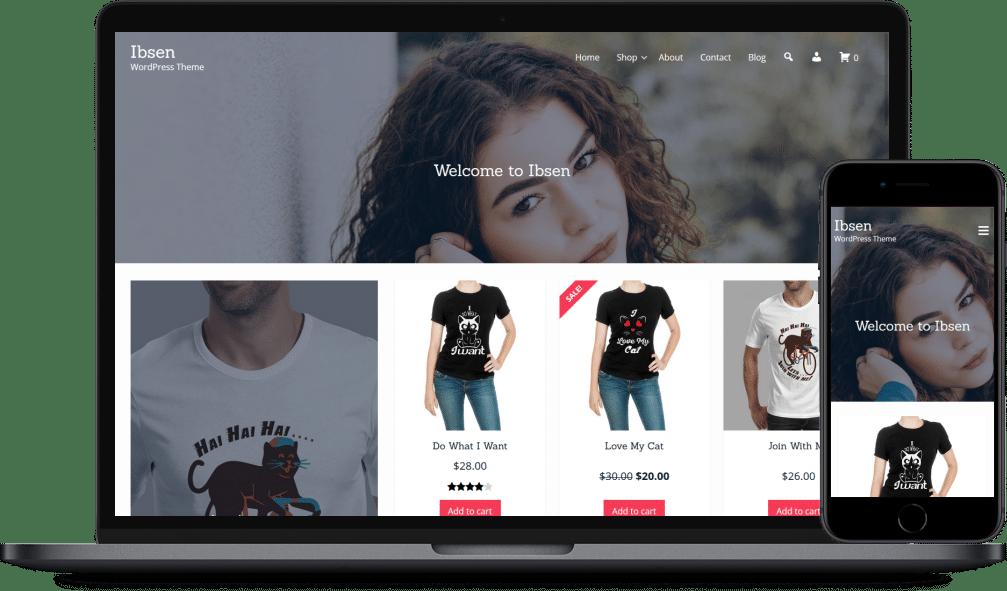 Ibsen - eCommerce WordPress Theme