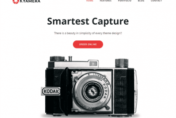 Kyamera – A Free WordPress Theme