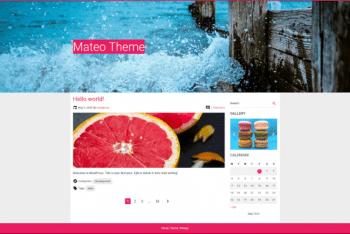 Mateo – A Free WordPress Theme