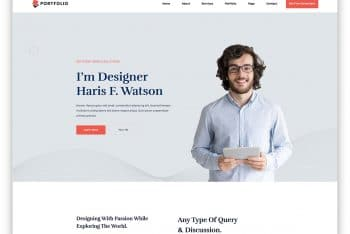 PersonalPortfolio – HTML Template for Personal Websites