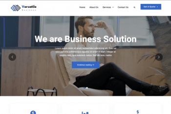 Versatile Business – Light Business WordPress Theme