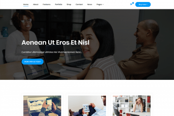 Gutenbiz Light – Business Website WordPress Theme