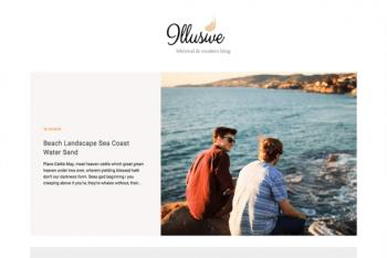 Download Illusive – Clean WordPress Blog Theme