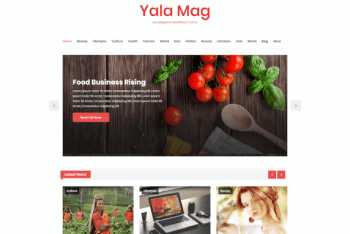 Yala Mag – Magazine/News Website WordPress Theme