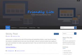 Download Friendly Lite WordPress Theme