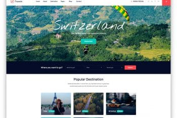 Travelo – Travel Agency Website HTML Template