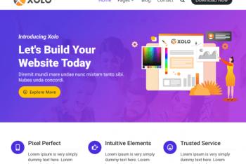 Xolo – A Free WordPress Theme