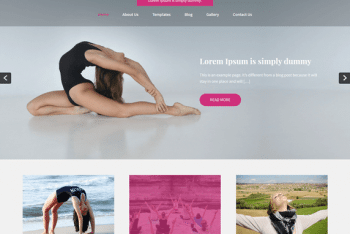 Yogic Lite WordPress Theme for Free