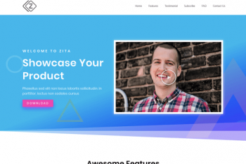 Zita – A Superfast WordPress Theme for Free