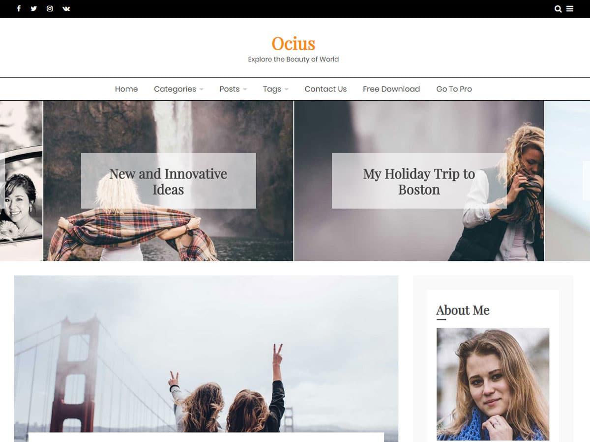 Blog Belt- clean and minimal WordPress theme