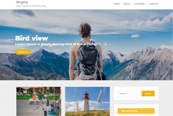 Blogtay – Fully Responsive WordPress Theme