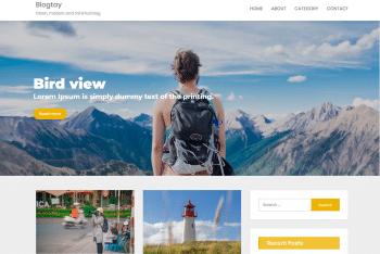 Blogtay – Fully Responsive WordPress Theme