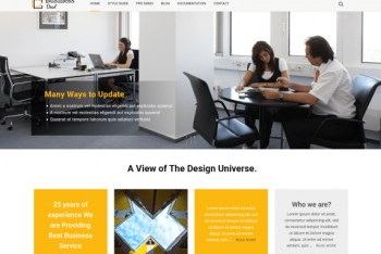 BusinessDeal – Business Website WordPress Theme