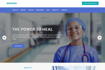 Neurons – Health and Medical WordPress Theme