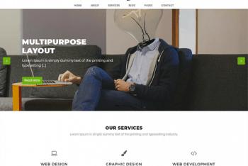 Profoxbiz – A Minimal WordPress Business Theme