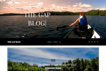 The Gap – Modern Blog Website WordPress Theme