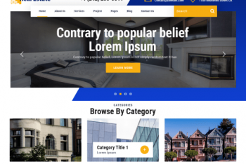 VW Real Estate – Real Estate Website WordPress Theme
