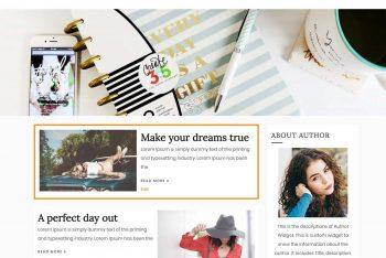 Blog Cycle – A Responsive Free WordPress Theme