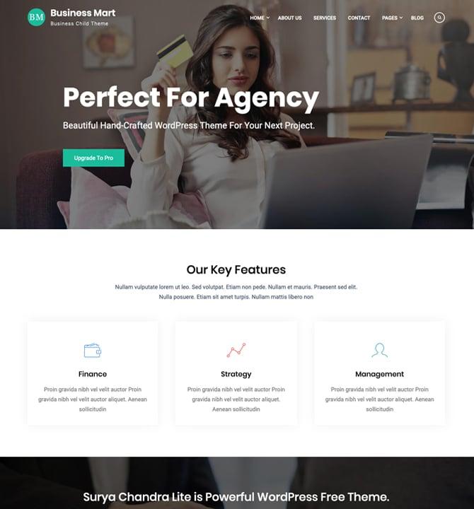Business Mart - Corporate WordPress Theme