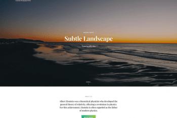 SimClick – Free Corporate Photography WordPress Theme