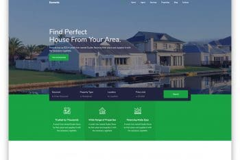 Ecoverde – Real Estate Website HTML Template