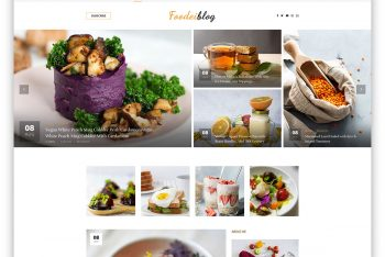 FoodeiBlog – Food/Recipe Blog HTML Template