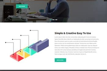 Master Business – A Free WordPress Business Theme