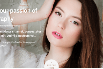 Otography – A Free Photography WordPress Theme