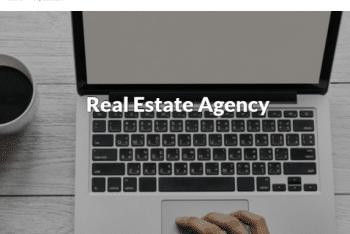 Real Estate Agency – A Free WordPress Theme