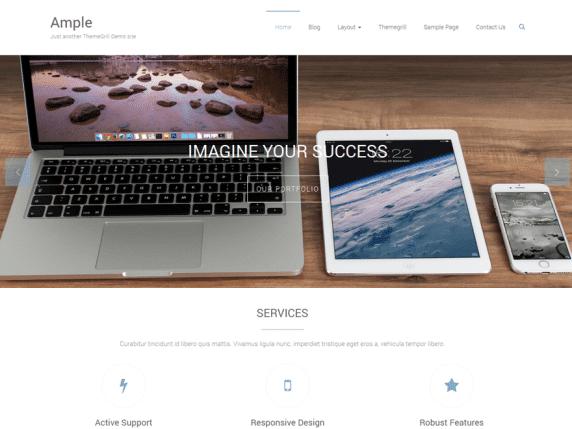 Ample - Multipurpose Responsive WordPress Theme
