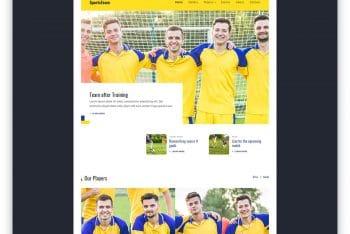 EsportsTeam – Sports Website HTML Template