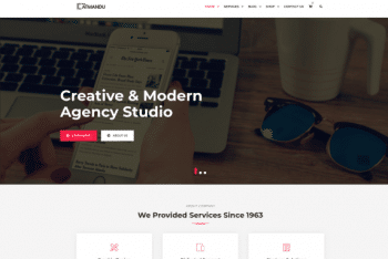 Catmandu – Business Website WordPress Theme