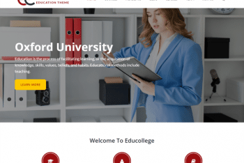 Educollege – Education Institution Website WordPress Theme