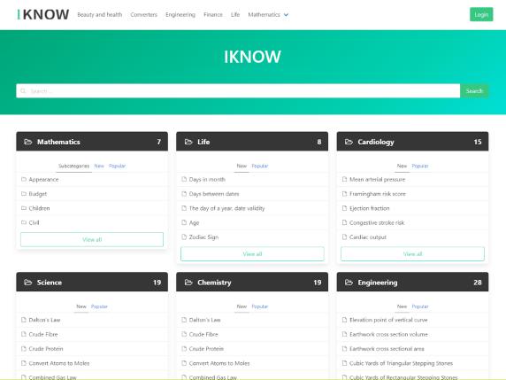Iknow WordPress - minimalistic WordPress theme