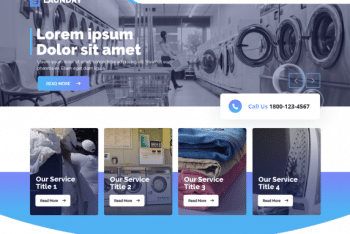 Laundry Master – Laundry Service Website WordPress Theme