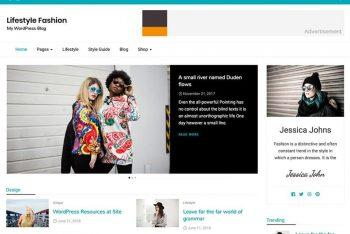 Lifestyle Fashion – Stylish WordPress Theme