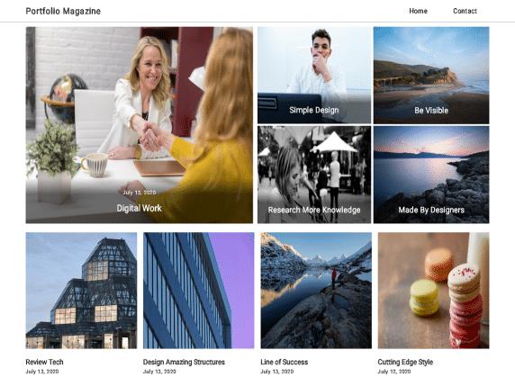 Portfolio Magazine - multipurpose WordPress theme
