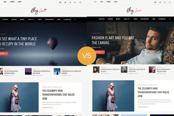Blog Lover – A Free WordPress Blog Theme