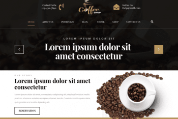 Cafe Coffee Shop – A Free WordPress Theme for Cafe & Restaurants Websites