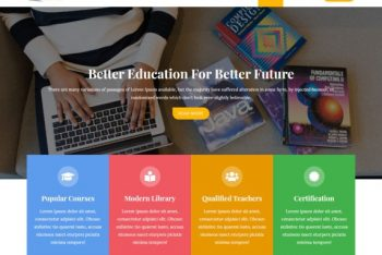 Education Business – A Free Education WordPress Theme