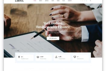 Lawful – Legal Website HTML Template