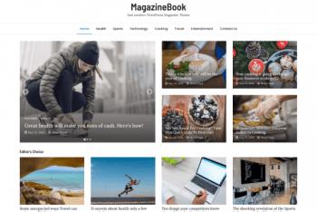 MagazineBook – A Free Magazine WordPress Theme