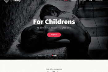 Pin Charity WordPress Theme for Free