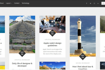 Reblog – Simple Blog WordPress Theme