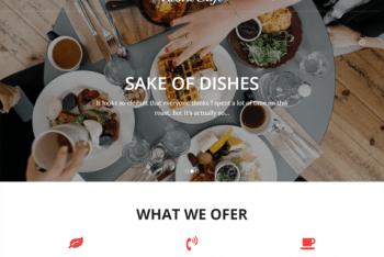 Restro Cafe – A WordPress Restaurant Theme for Free