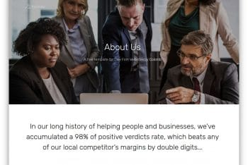 TheOrder – Law Firm Website HTML Template