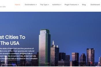 Travel Joy – Responsive WordPress Theme for Free