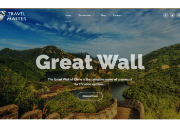 Travel Master – A Free WordPress Theme for Travel Websites