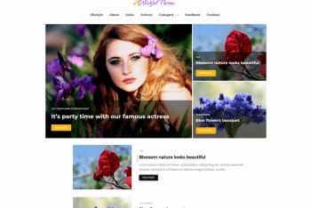 Wishful Blog – A Free WordPress Theme for Bloggers & Magazine Users