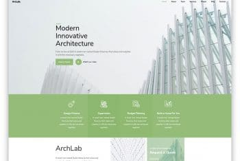 Archlab – Architecture Website Template